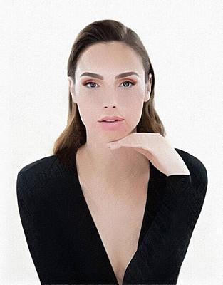 Actrice Digital Art - Gal Gadot by Best Actors