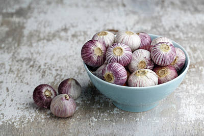 Garlic Art Print by Nailia Schwarz