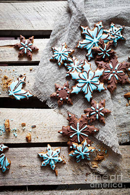 Photograph - Gingerbread Cookies by Kati Finell