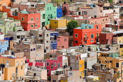 Royalty Free Images Photograph - Guanajuato, Mexico. by Rob Huntley