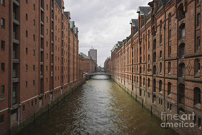 Photograph - Hamburg Speicherstadt by JR Photography