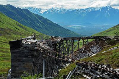 Independence Mine Photograph - Independence Mine by Jon Manjeot