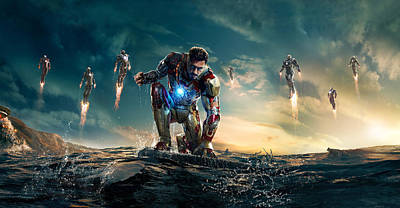 Iron Man 3 Art Print by Unknown