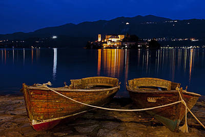 Island Of San Giulio Art Print by Joana Kruse