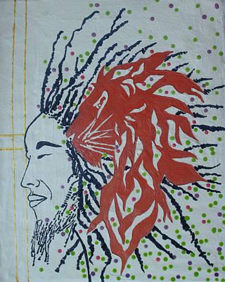 Ceramic Art - Jesus Lion Of Judah by Gloria Ssali