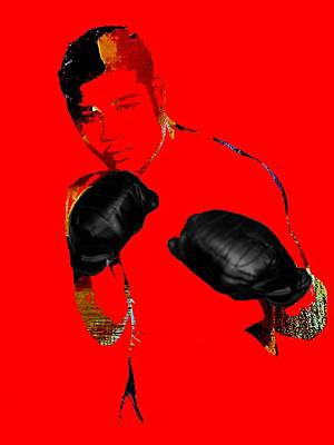 Heavyweight Mixed Media - Joe Louis Collection by Marvin Blaine