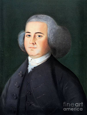 Blyth Photograph - John Adams (1735-1826) by Granger