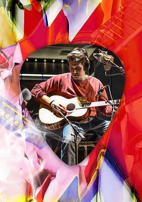 Mixed Media - John Mayer Art by Marvin Blaine