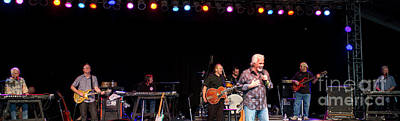 Kenny Rogers At Bonnaroo Art Print by David Oppenheimer