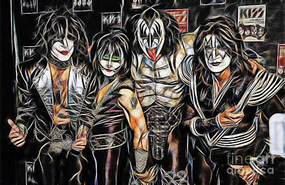 Kiss Collection Art Print