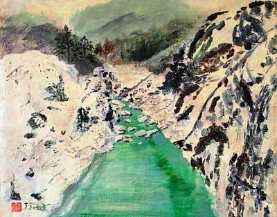 Landscape Pop Arts Art Print