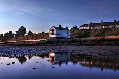 Haus Photograph - Lepe - England by Joana Kruse