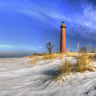 Sand Dunes Photograph - Little Sable Lighthouse by Twenty Two North Photography