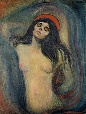 Modern Painting - Madonna by Edvard Munch
