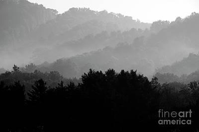 Antlers - Misty Mountain Sunrise by Thomas R Fletcher