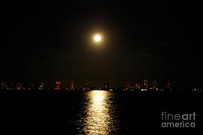 Photograph - 8- Moon Over Singer Island by Joseph Keane