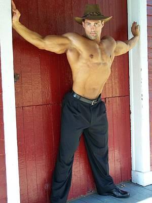 Photograph - Muscle Art America by Jake Hartz