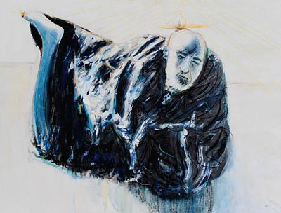 Oneness Painting - Neem Karoli Baba  by Alexander Carletti