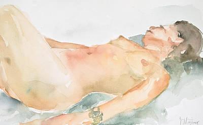 Nude Series Art Print by Eugenia Picado