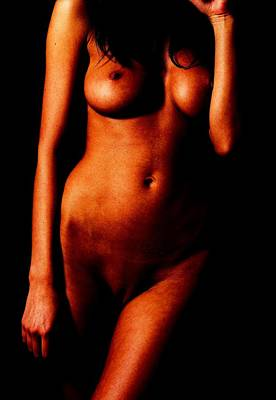 Nude Photograph - Nude Woman by Andrew Hunt