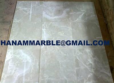 Onyx Slabs Ceramic Art - Onyx Tiles by Hanam Marble Industries
