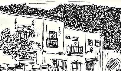 Drawing - Pampaneira by Chani Demuijlder