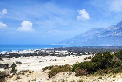 Blau Photograph - Patara Beach - Turkey by Joana Kruse