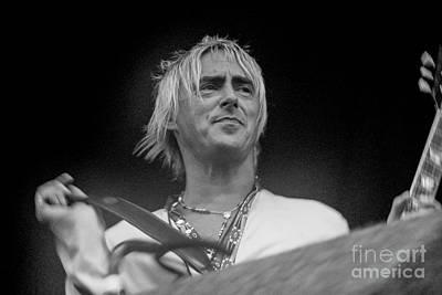 Photograph - Paul Weller  by Jenny Potter