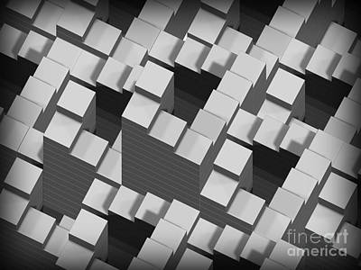 Ambiguity Photograph - Penrose Stairs, Artwork by Claus Lunau