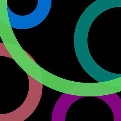 Drawing - 8 - Phi Word Circle by REVAD David Riley