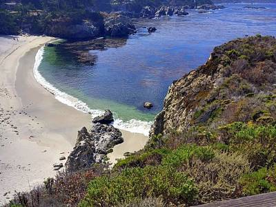 Photograph - Point Lobos Beach by Richard Yates