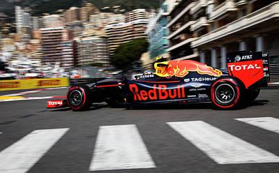 Red Bull Formula 1 Art Print by Srdjan Petrovic