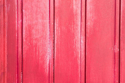 Barn Board Photograph - Red Wood by Tom Gowanlock