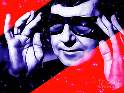 Roy Orbison Collection Art Print by Marvin Blaine