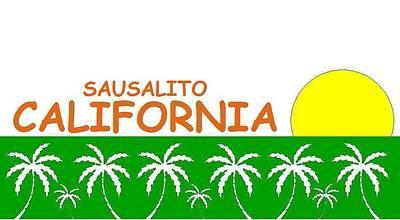 Sausalito California Art Print