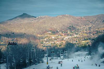 Pineapple - Scenic Views Around Sugar Mountain Ski Resort In North Carolina  by Alex Grichenko