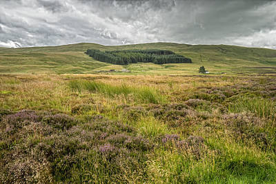 Photograph - Scottish Scenery by Jeremy Lavender Photography