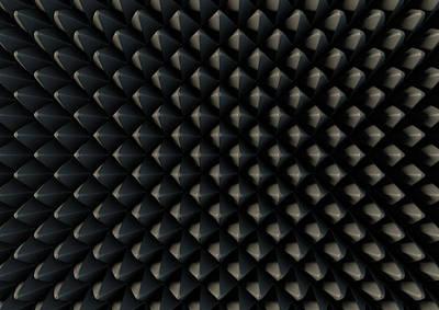 Sound Proof Foam Print by Allan Swart