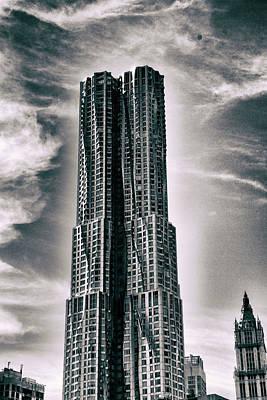 Frank Gehry Photograph - 8 Spruce Street by Jessica Jenney