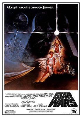 Yoda Digital Art - Star Wars Episode Iv - A New Hope 1977 by Fine Artist