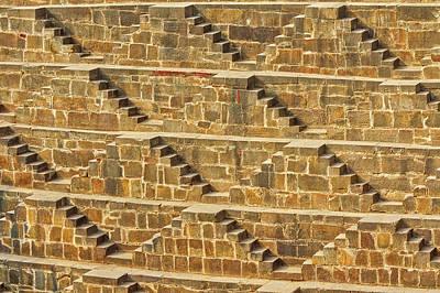 Photograph - Steps At Chand Baori by Nila Newsom