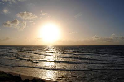Photograph - Sunset At Jaffa Beach 9 by Isam Awad