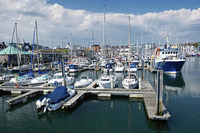 Photograph - Sutton Harbour Plymouth by Chris Day
