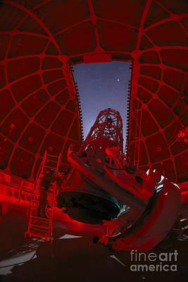 Telescope At Mount Wilson Observatory Art Print