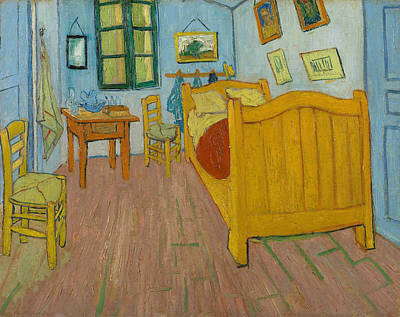 Painting - The Bedroom by Vincent Van Gogh