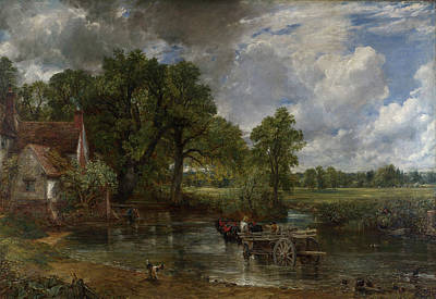 Riverside Painting - The Hay Wain by John Constable