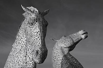 Photograph - The Kelpies by Stephen Taylor