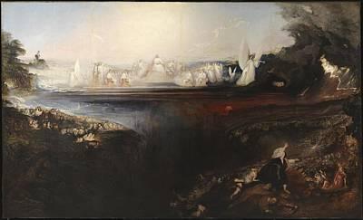 The Last Judgement Painting - The Last Judgement  by John Martin