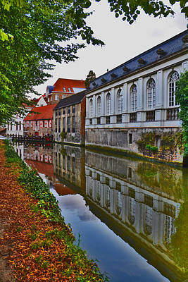 The Quiet Waters Of The Canals Of Bruges Original by Andy Za
