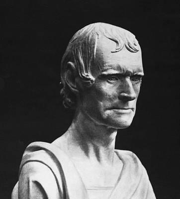 Statue Portrait Photograph - Thomas Jefferson by Granger